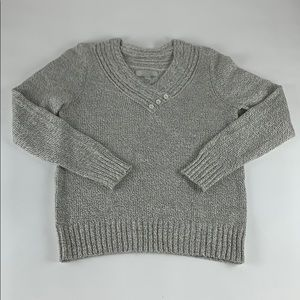Emily Rose Marled Pullover Sweater M